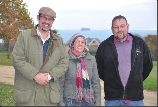 David Field, Leslie Dickie & Adrian Walls, Nov 10