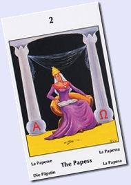 Barbara Walker- La Sacerdotisa