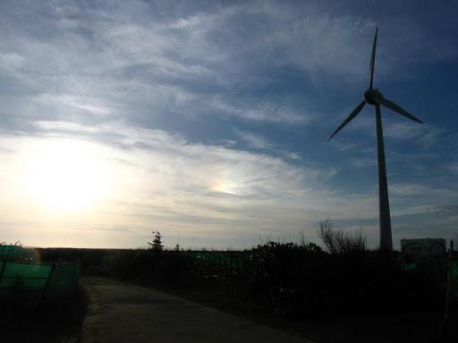 風車和日暈