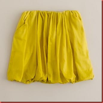 chartruese skirt