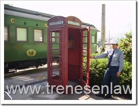 CASETA TELEFONICA DE INICIOS DEL SIGLO XX DE ESTACION DEL F.C.A.B. ANTOFAGASTA
