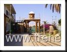 hermoso portal de  ingreso a la Estación del ferrocarril Tacna a Arica