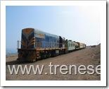 Locomotora 322 de ferronor entrando a Iquique