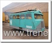 Autocarril Billard N°306, de origen Francés, Perteneciente a FERRONOR