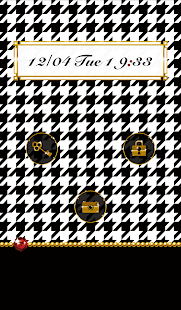 Cute wallpaper★Houndstooth - screenshot