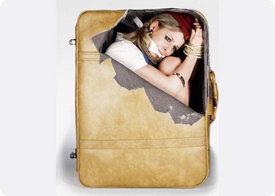 calcomanias divertidas para maletas