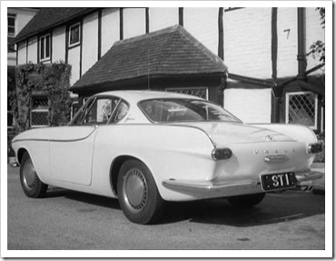 1962 Volvo p1800 from The Saint
