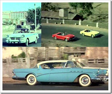 The cars of Waqt