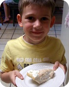 Nate with pb pie