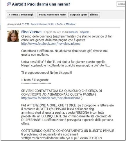 elisavicenzamessaggio12aprile2011