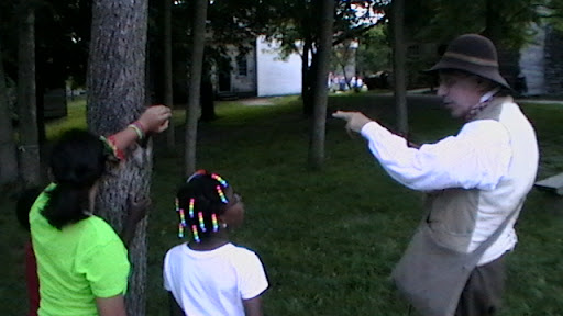A Conner Prairie interpreter explains life in 1880s Indiana to my daughters