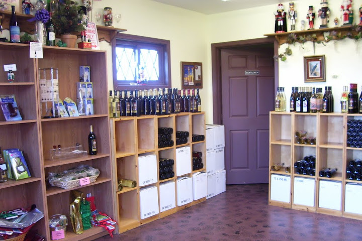 Inside the Winzerwald Winery shop