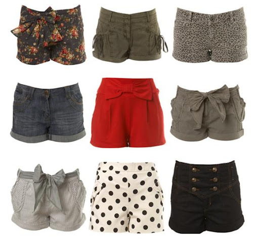 Shorts, Hotpants and High-Waisted Shorts by Miss Selfridge