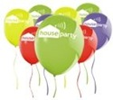 House Party balloons