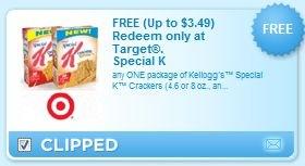 FREE Special K at Target
