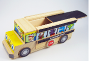 Lowes Build & Grow School Bus 080810