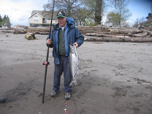 fishing for Spring Chinook on the Lower Columbia River