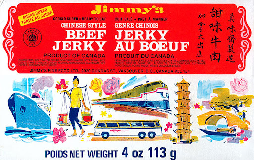 Jimmy's Chinese Style Beef Jerky