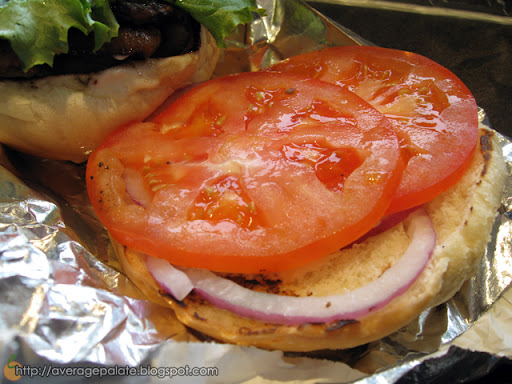 Urban Burger on Davie in Vancouver