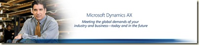 Dynamics AX Manufacturing