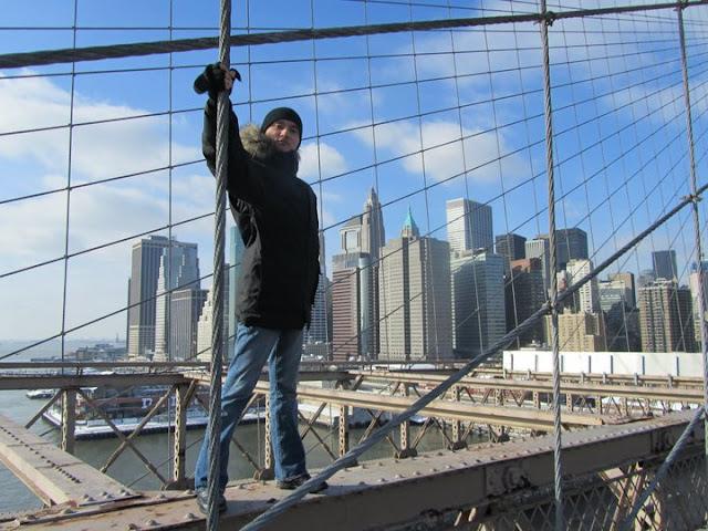 Верхом на Бруклинском мосте