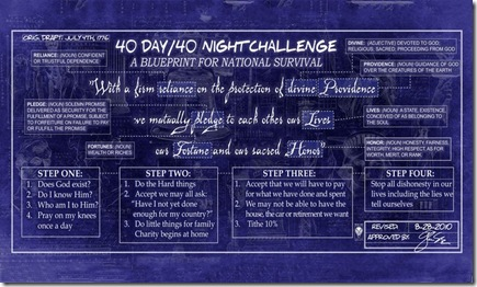 Beck's 40-DAy 40-Night Challenge