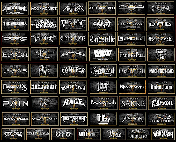 Wacken Open Air 2009 bands