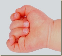 baby hand 5 by demordian