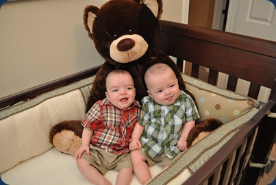 Huddie and Landers - 6 Months