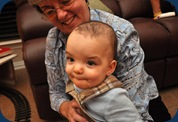 L and Grandma