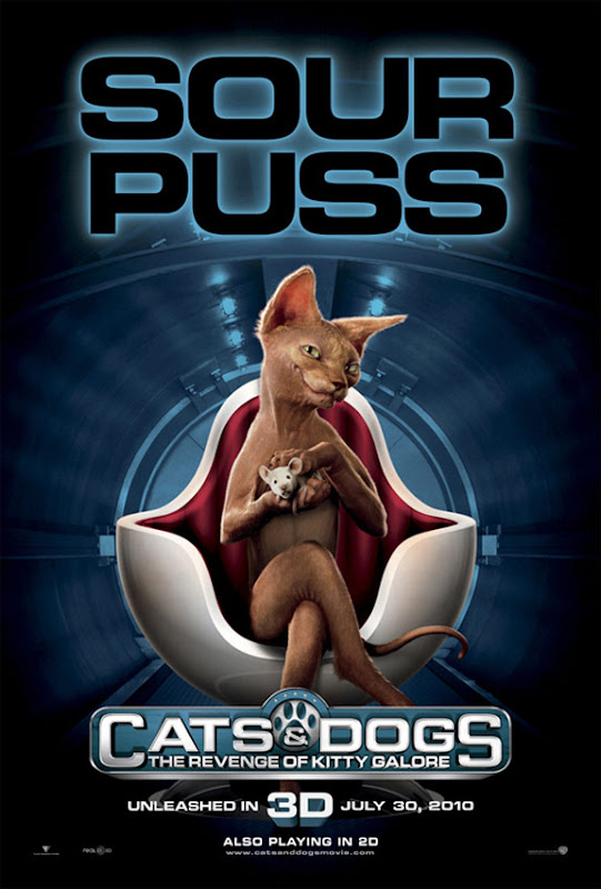 Cats & Dogs, The Revenge of Kitty Galore,  movie, new, poster, dvd, cover