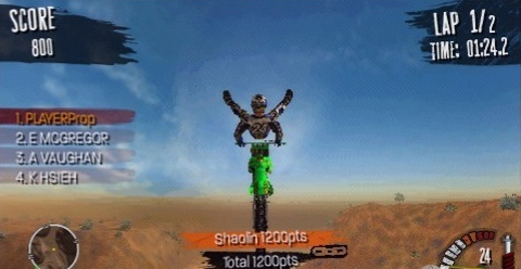 MX vs ATV, Reflex Sony, PSP, Screenshots, screens, images, new, game
