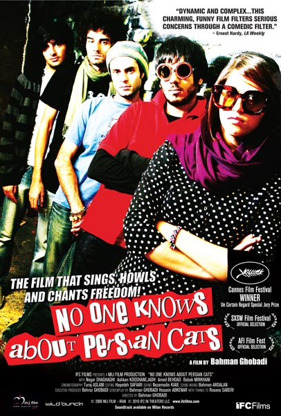 No One Knows About Persian Cats, movie, poster