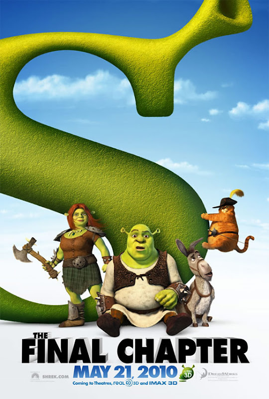 Shrek Forever After, 2010, New, Movie, Posters, dvd, cover, image