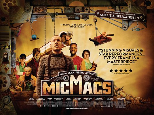 Micmacs, movie, poster