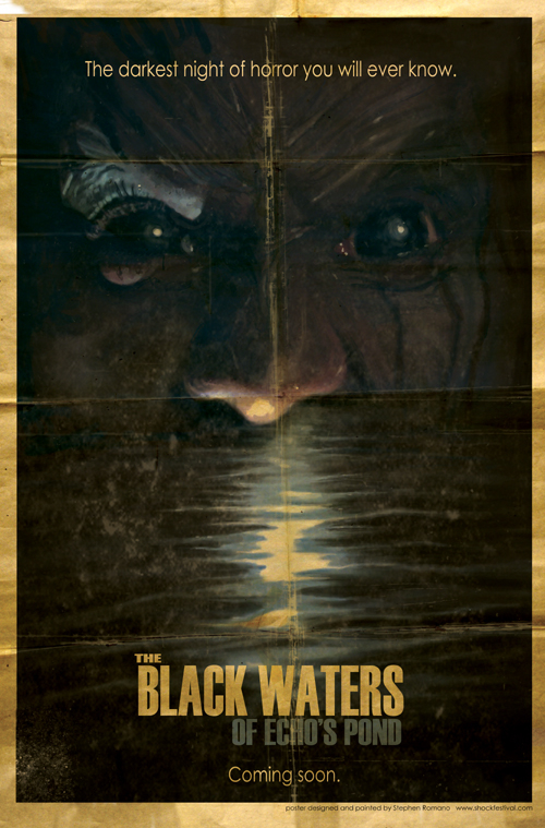 The Black Waters of Echo's Pond, movie, poster, new, images, dvd, cover