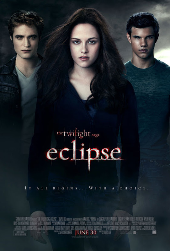 Twilight Saga, Eclipse, 2010, New, Movie, Poster, dvd, cover, image, art