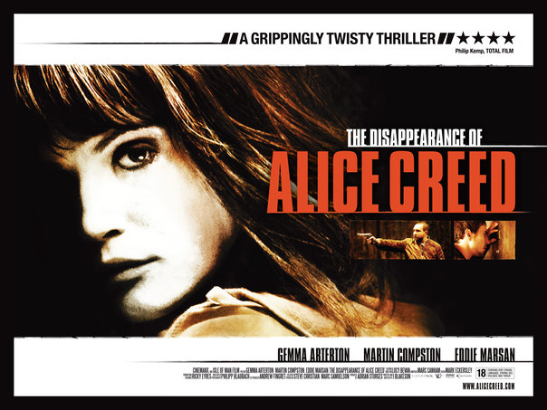 The Disappearance of Alice Creed, movie, poster