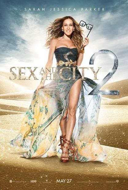 Sarah Jessica Parker,Sex and the City 2, poster, movie