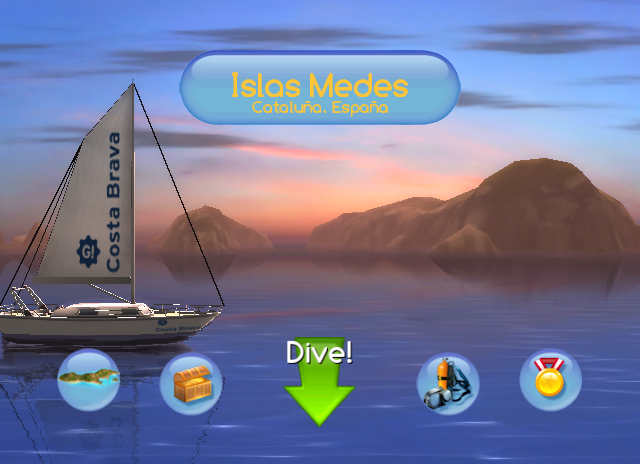 Dive, The Medes Islands Secret, game, screen, image, screenshot, screenshots, screens, images