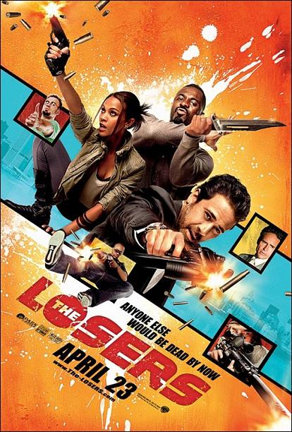 The Losers, movie, poster