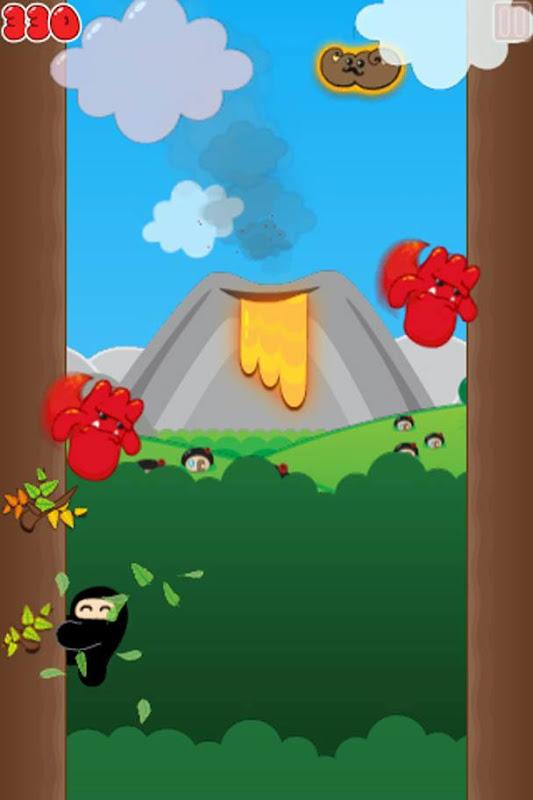 Ninjatown,Trees of Doom, iphone, game, screen, screenshot, image