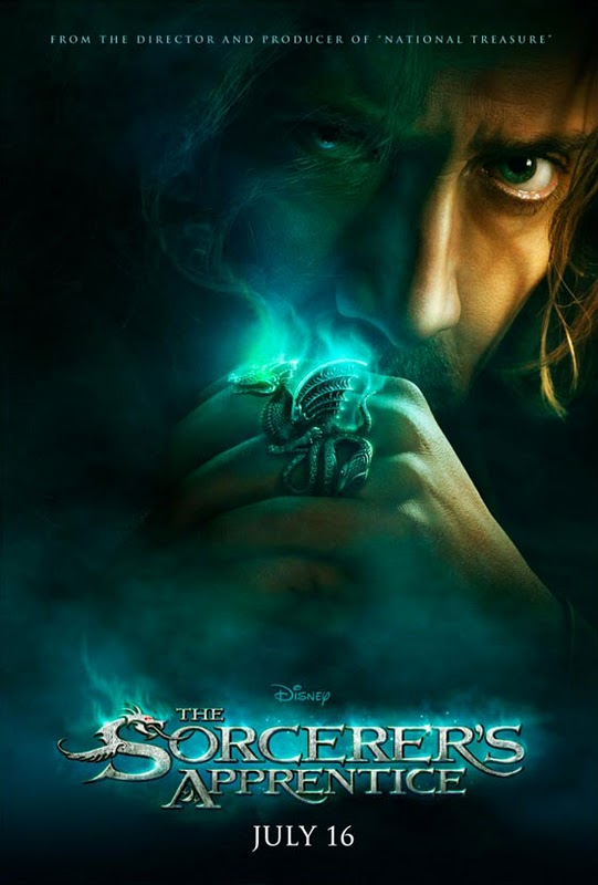 The Sorcerer's Apprentice, movie, poster, Nicolas Cage, new, image, dvd, cover