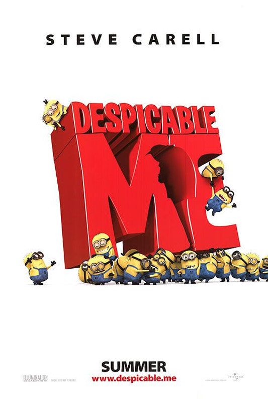 Despicable Me, movie, poster