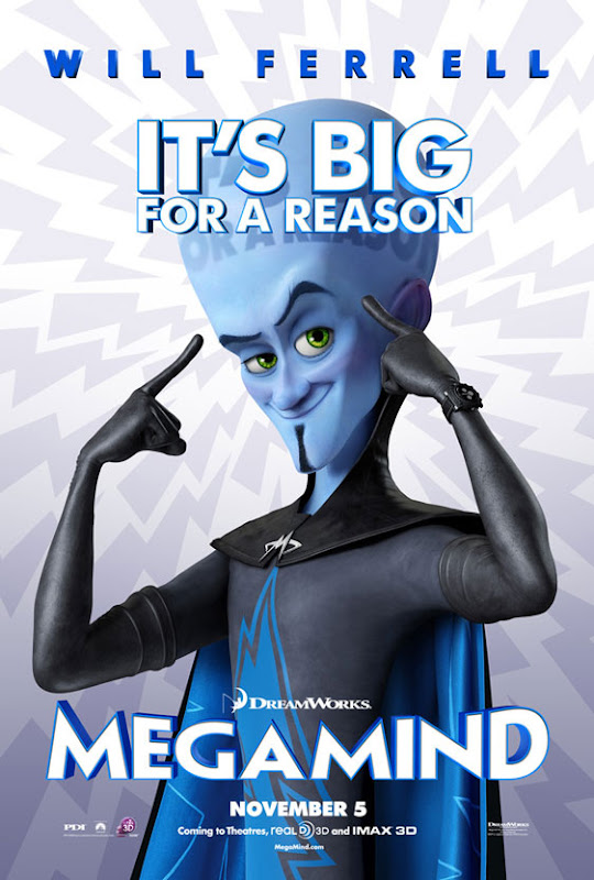 Megamind, movie, poster