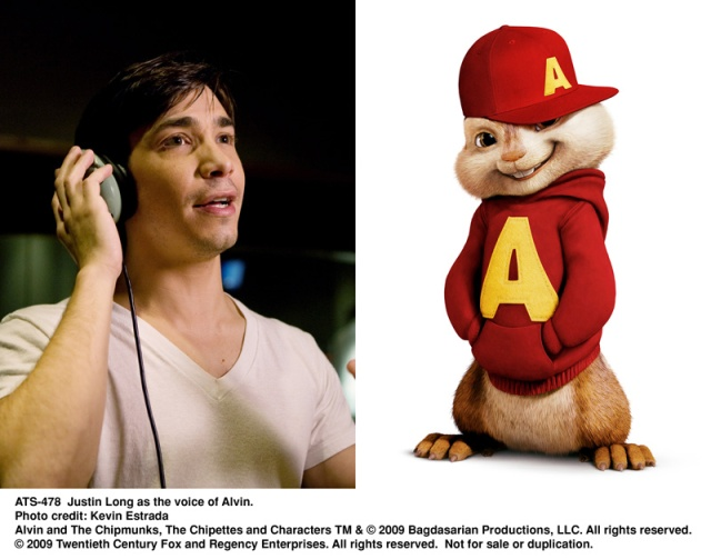 justin long, alvin, chipmunks, The Squeakuel