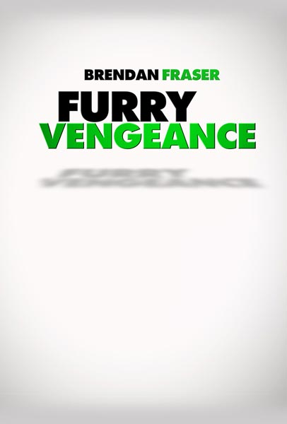 Furry Vengeance, movie, poster