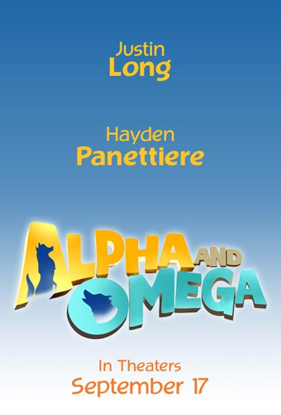 Alpha and Omega, movie, poster
