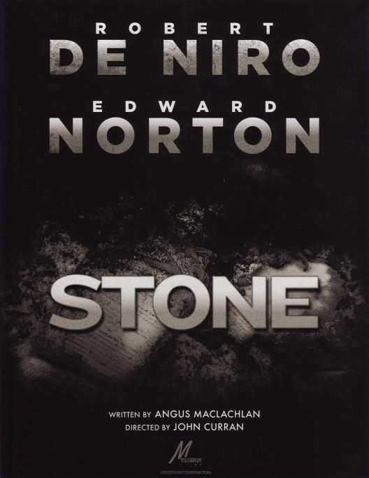 Stone, movie, poster