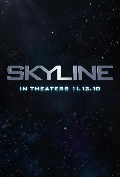 Skyline, movie, poster